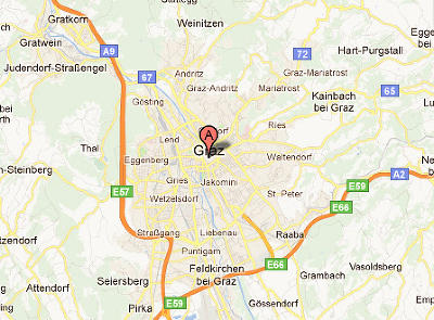 Foto Server By Carnavalcom Maps And Guides Grazgooglemaps - Graz austria map