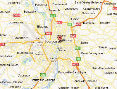 Foto server by maps and guides toulouse for Alentours de toulouse